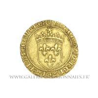 Écu d'or au soleil, 1ère émission de 1483, point 5ème Toulouse