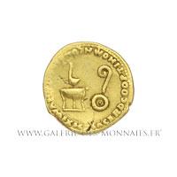 Auréus frappé à Rome vers 50-54