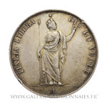 5 Lire, 1848 M Milan