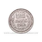 10 Francs 1353 AH (1934)