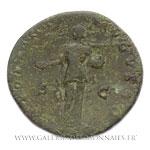 Sesterce frappé à Rome, vers 140-144
