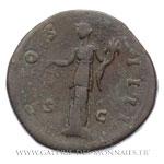 Sesterce frappé à Rome, vers 148-149