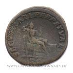 Sesterce frappé à Rome, vers 210-213