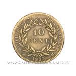 10 Centimes 1827 H La Rochelle