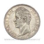 5 FRANCS 2ème type, 1828 A Paris