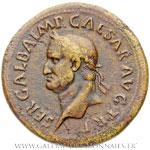 Sesterce frappé à Rome en octobre 68