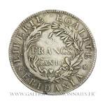 5 Francs Gaule Subalpine An 10 (1801) Turin.