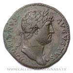 Sesterce frappé à Rome entre 125 et 128