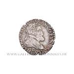 Quart de franc au buste lauré et cuirassé 1607 B Rouen