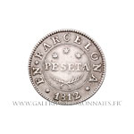 1 Peseta 1812 Barcelone