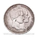 5 Francs Mariage du duc et de la duchesse de Brabant 1853