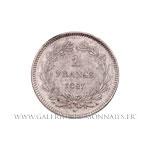 2 FRANCS Louis-Philippe Ier, 1847 A Paris
