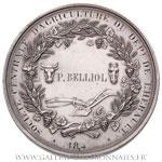 Médaille Société centrale d'agriculture de l'Hérault par Barre, 184.
