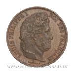 Module de 5 Francs, Visite à la Monnaie de Rouen, 1831