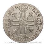 Écu aux 8 L, 1er type, 1690 9 Rennes