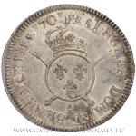 Écu aux insignes, 1701 A Paris