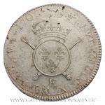 Écu aux insignes, 1702 E Tours