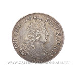 Quart d'écu aux insignes, 1702 & Aix en Provence