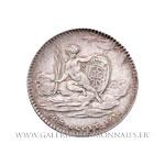 Jeton argent, États de Languedoc 1736