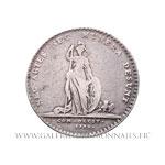 Jeton argent, Protection des Arts 1732