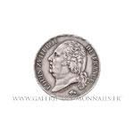 1 FRANC Louis XVIII 1817 A Paris