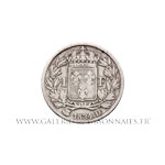 1 FRANC Louis XVIII 1824 D Lyon