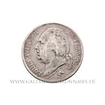 2 FRANCS Louis XVIII 1822 A Paris
