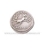 Denier frappé à Rome en 101 av. J.-C.