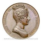 Médaille MarieThérèse Charlotte, Duchesse d'Angoulême, par GAYRARD