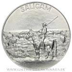 Médaille de la Compagnie salinière de la Camargue SALICAM par André SPITZ