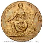 Médaille École de Droit d'Alger 1898 Droit Commercial par Dubois