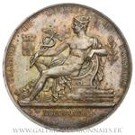 Médaille grand module Chambre de Commerce de Marseille, par Domard 1878.