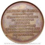 Médaille Napoléon Bonaparte bataille de Marengo AN 8, par Auguste