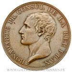 Médaille, Paix générale d'Amiens AN X 1802, par DROZ