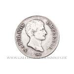 2 FRANCS Napoléon Empereur, calendrier révolutionnaire,  AN 14 A Paris