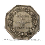 Jeton otogonal, Chambre de Commerce de Marseille par Caqué et Dubois, non daté