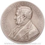 Médaille Louis-Adolphe THIERS président de 1871-1873, par OUDINÉ