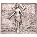 Plaquette Fédération des syndicats d'initiatives ESSI d'Algérie 1930 par Lenoir