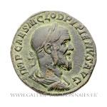 Sesterce frappé à Rome en 238