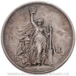 Médaille Service des phares et balises 1878, par DEGEORGE.