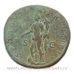 Sesterce frappé à Rome, vers 103-111