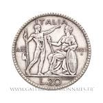 20 Lires 1927 R Rome AN VI
